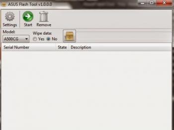 Download Asus Flashtool