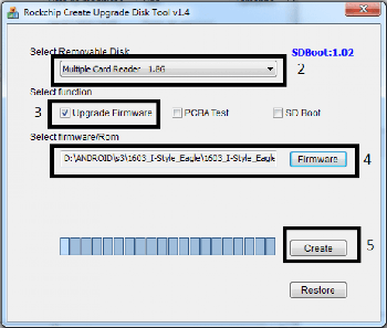 Download SD Firmware Tool