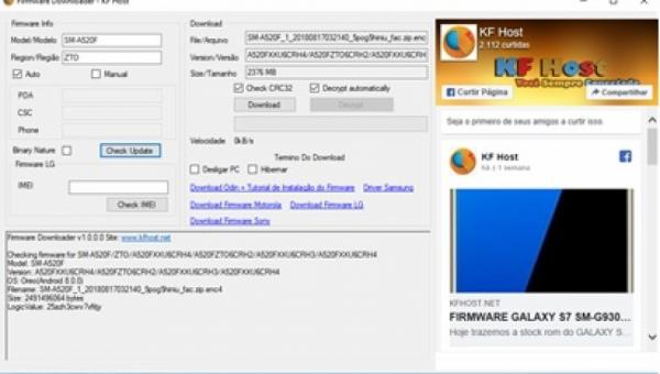 Firmware Downloader 1.0