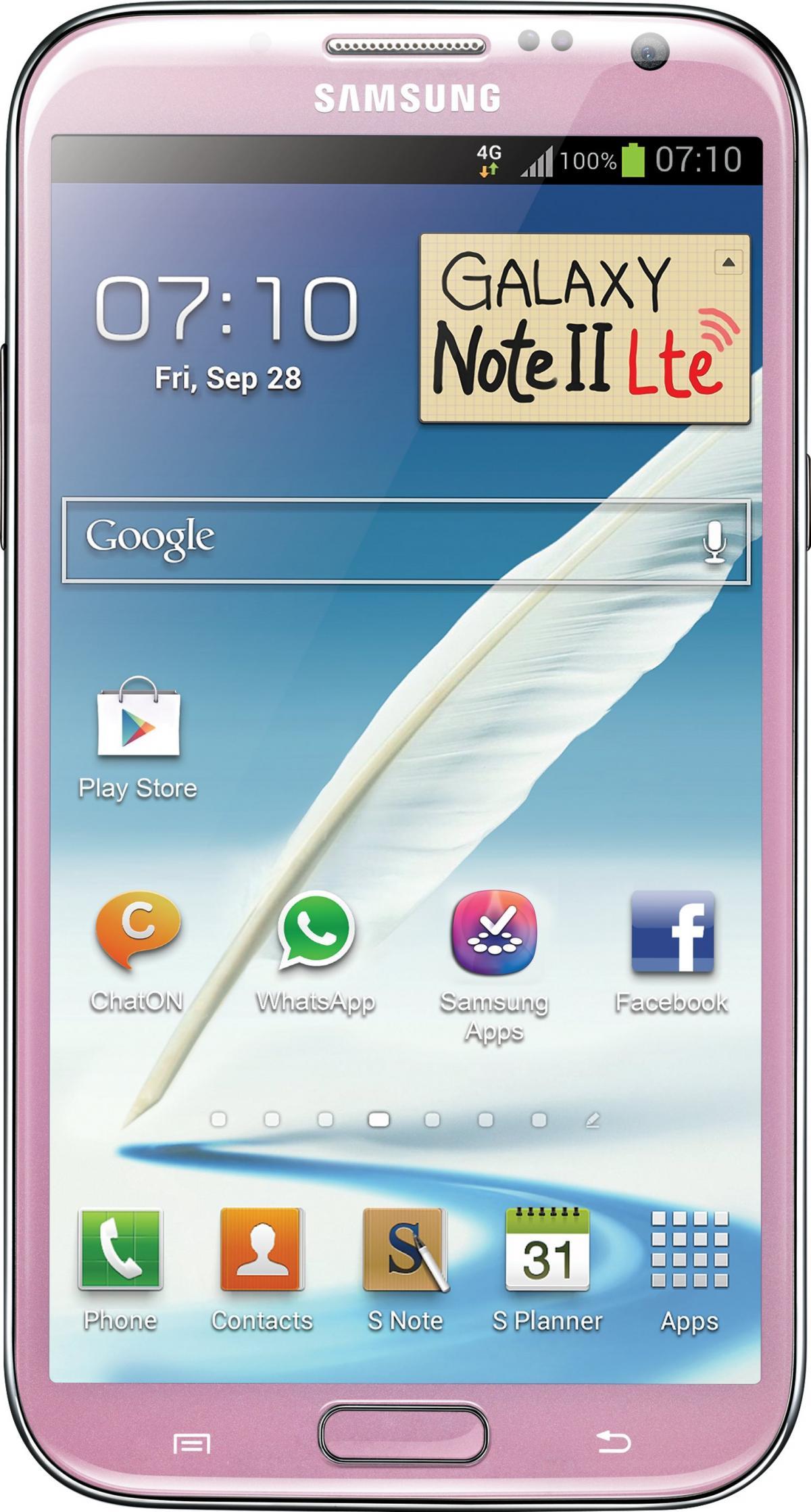 Galaxy Note 2 LTE (International) GT-N7105