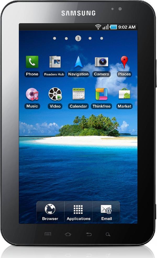 Galaxy Tab (3G + WiFi) (Latin) GT-P1000L