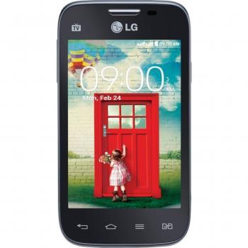 Ligando o LG L40 no modo download.