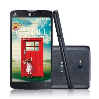 Ligando o LG L80 no modo download.