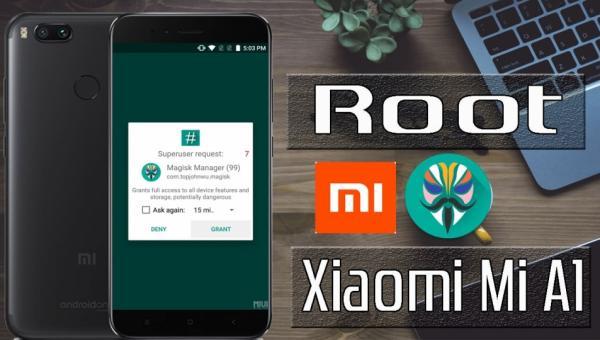 Root no Xiaomi Mi A1