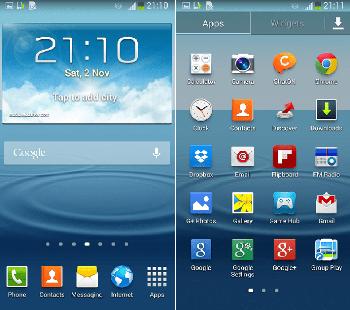 Samsung começa a disponibilizar o Android 4.3 para usuários do Galaxy S3