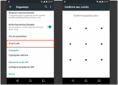 Tutorial – Como usar função Smart Lock No aparelho com Android 5.0?