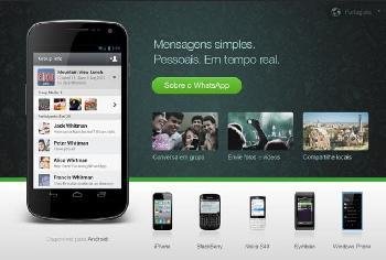 WhatsApp supera Facebook entre os mensageiros mais populares do Brasil