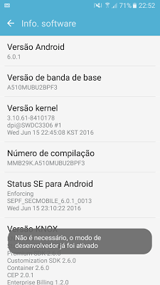 Menu do Galaxy-A5-2016