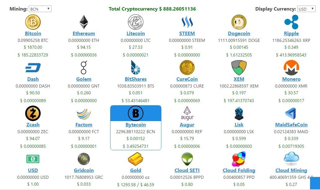 Eobot Mineração de moeda digital