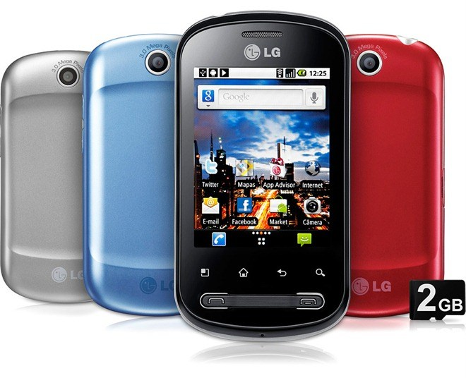 Stock rom para LG Optimus ME P350 - Download