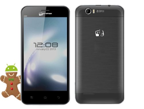 Stock Rom Micromax Bolt A40