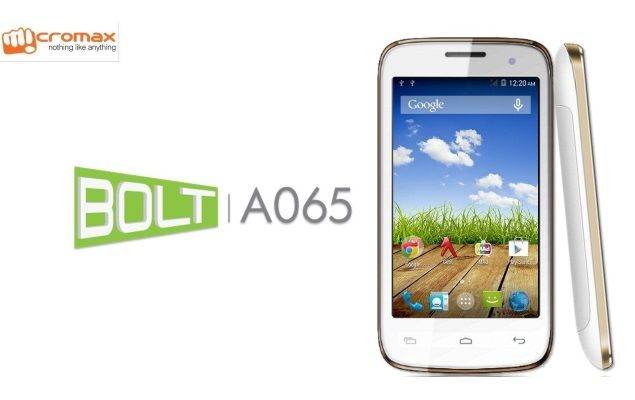 Stock Rom Micromax A065 Bolt