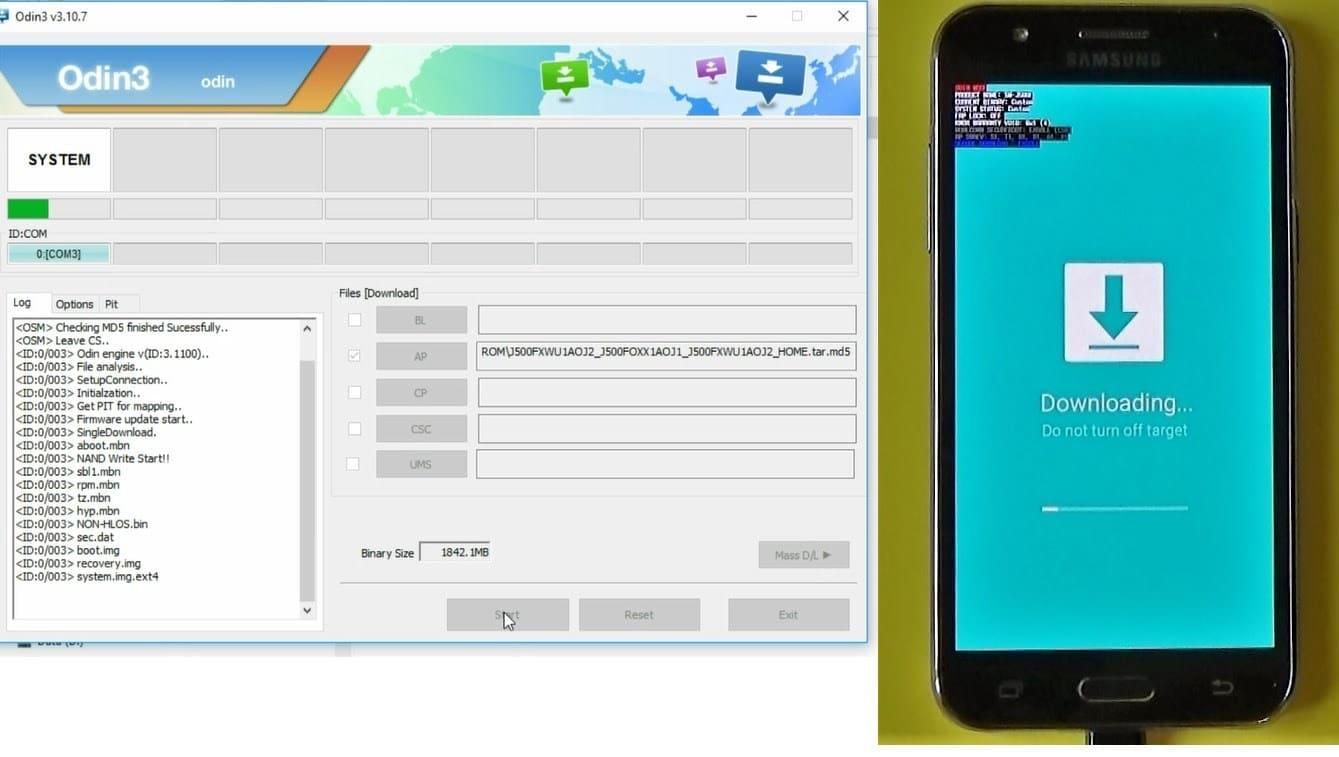 Firmware GALAXY A7 SM-A710FD Android 7 0 Nougat Região
